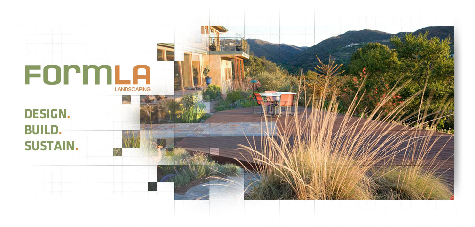 FormLA Sustainable Landscape Design