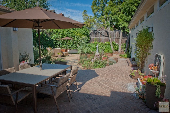 Protected Dining Patio
